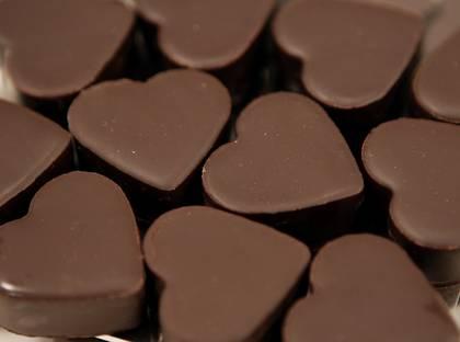 Choklad hälsosamt för hjärtat