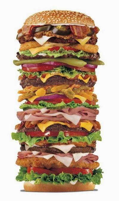 Moderata hamburgare med grädde inte helt ok
